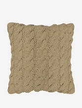 The Vintage House by Park. B. Smith Classic Cable Knit Decorative Pillow – Linen