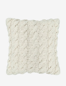 The Vintage House by Park. B. Smith Classic Cable Knit Decorative Pillow – Natural