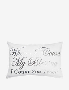 Park B. Smith Count You Twice Decorative Pillow