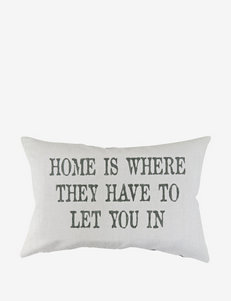 The Vintage House by Park B. Smith Home Is.. Decorative Pillow