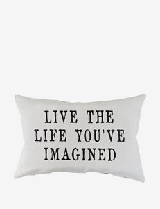 The Vintage House by Park B. Smith Live Life Decorative Pillow