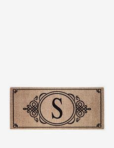 Sassafras Monogram Garden Mat