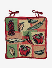 Park B. Smith Hot Peppers Tapestry Chair Pad