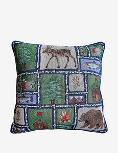 Park B. Smith Lodge Sampler Tapestry Decorative Pillow