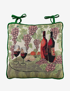 Park B. Smith Wine Table Tapestry Chair Pad