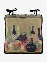 Park B. Smith Wine Classic Tapestry Chair Pad