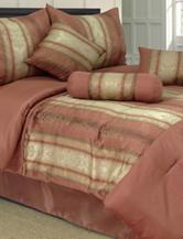 Lavish Home 7-pc. Kendall Jacquard Comforter Set