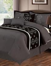 Lavish Home Julia 7-pc. Embroidered Comforter Set