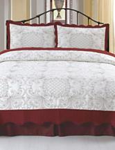 Lavish Home Juliette Embroidered Quilt Set