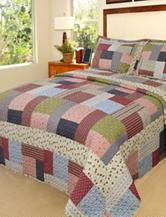 Lavish Home Savannah Patchwork Quilt Set