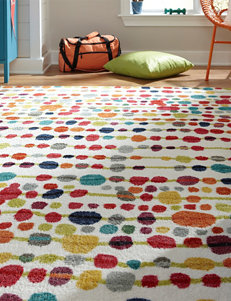 Mohawk Delirious Multicolored Dot Print Rug
