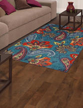 Mohawk Whinston Multicolored Floral & Paisley Print Rug