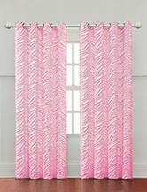Victoria Classics Ombre Zebra Hot Pink Panel