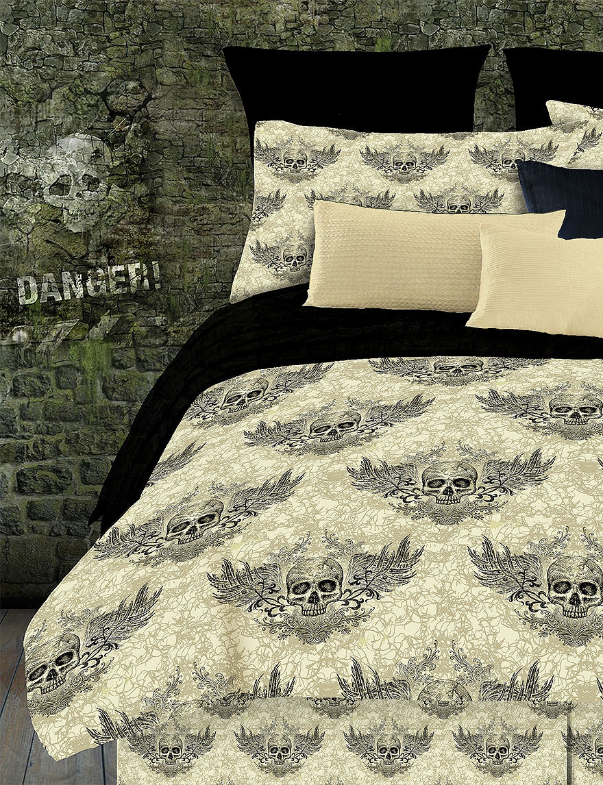Veratex Tan / Black Comforters & Comforter Sets