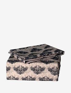 Veratex Tan / Black Sheets & Pillowcases