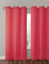 Victoria Classics Penelope Sparkle Red Grommet Panel