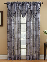 Chapel Hill by Croscill Jessica Sheer Window Collection – Black