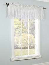 Commonwealth Home Fashions Anna Maria Tailored Valance – Off White