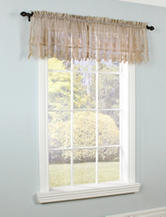 Commonwealth Home Fashions Anna Maria Tailored Valance – Mushroom