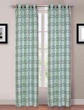 Lavish Home Katrina 2-pc. Grommet Curtains – Blue