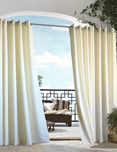 Commonwealth Home Fashions Gazebo Solid Grommet Panel – Natural