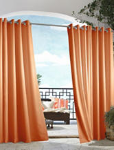 Commonwealth Home Fashions Gazebo Solid Grommet Panel – Orange