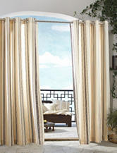 Commonwealth Home Fashions Gazebo Striped Grommet Panel – Khaki
