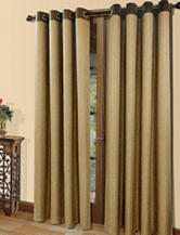 Commonwealth Home Fashions Harrison Grommet Panel – Toasted Almond