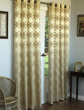 Commonwealth Home Fashions Hologram Grommet Panel – Gold