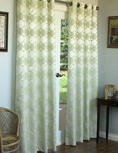 Commonwealth Home Fashions Hologram Grommet Panel – Sage