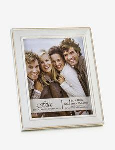Fetco Longwood 8x10 White Photo Frame