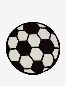 Fun Rugs Soccer Ball Rug