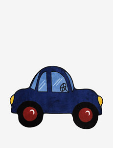 Fun Rugs Blue Car Rug