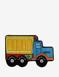 Fun Rugs Dump Truck Rug