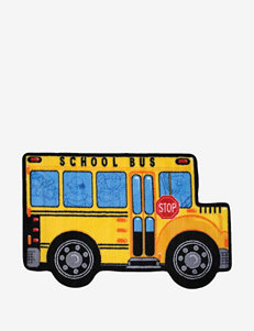 Fun Rugs School Bus Rug
