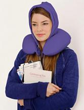 U_Hood Portable Memory Foam Pillow – Proud Purple