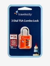 Travelocity™ 3 Dial TSA Combo Lock