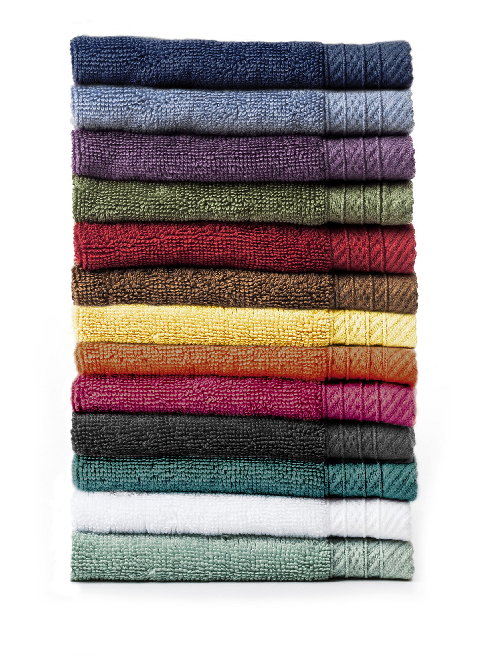 Great Hotels Collection Coral Washcloths Towels