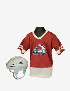 Franklin Sports NHL Colorado Avalanche Kids Uniform Set
