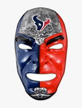 Franklin Sports NFL Houston Texans Fan Face