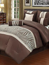 Beatrice Home Fashions Zumba 7-pc. Comforter Set