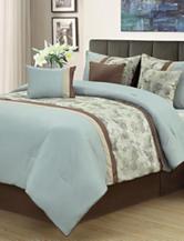 Beatrice Home Fashions Elena 7-pc. Comforter Set