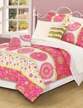 Beatrice Home Fashions Jennifer 3-pc. Comforter Set