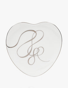 "Mikasa 9"" Love Story Heart Accent Plate"