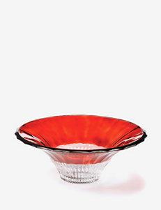 """Mikasa 14"""" Crimson Dawn Serving Bowl"""