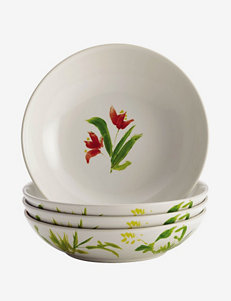 BonJour Dinnerware Meadow Rooster 4-pc. Fruit Bowl Set