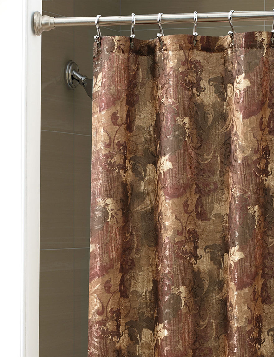 Chapel Hill by Croscill Antique Shower Curtains & Hooks