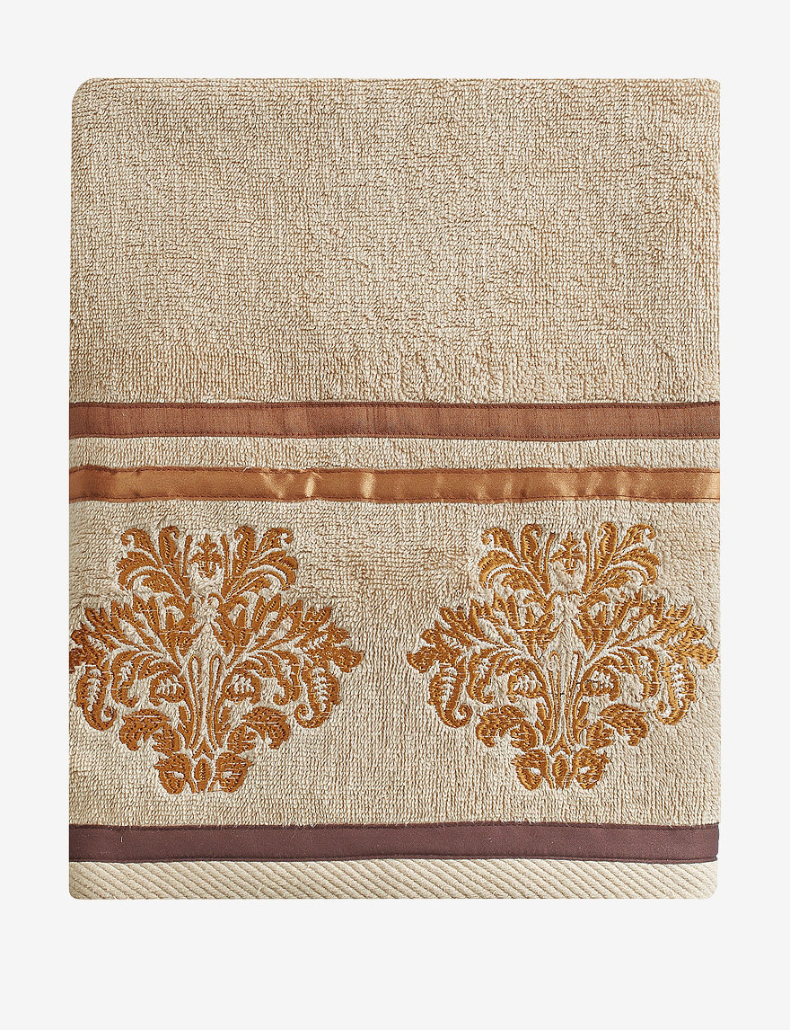 Chapel Hill by Croscill Beige Bath Towels Towels