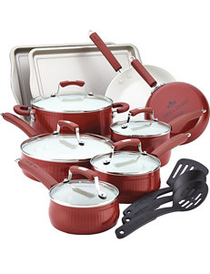 Paula Deen Red Cookware