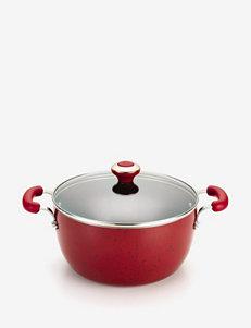 Paula Deen Red Pots & Dutch Ovens Cookware
